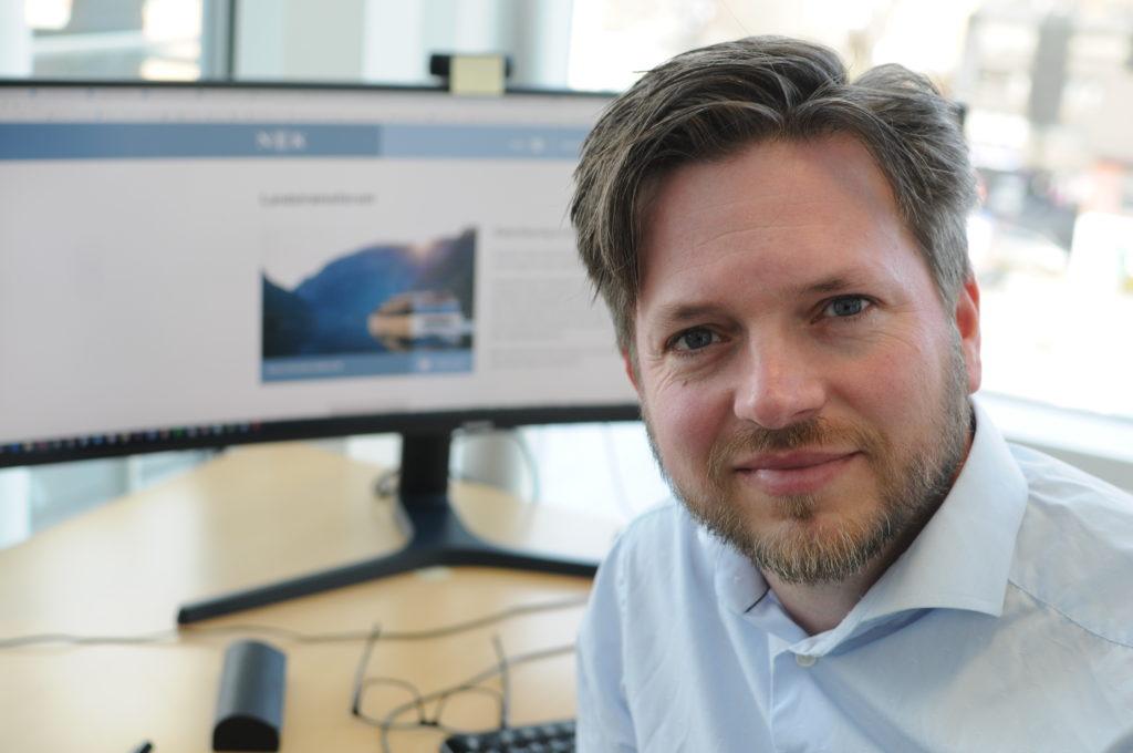 Fagansvarlig for maritime elektroinstallasjoner Arild Røed i NEK