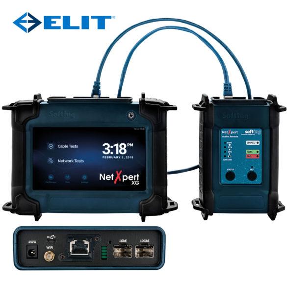 LAN kvalifisering til 10Gbit/s ELIT NetXpert XG 10Gb