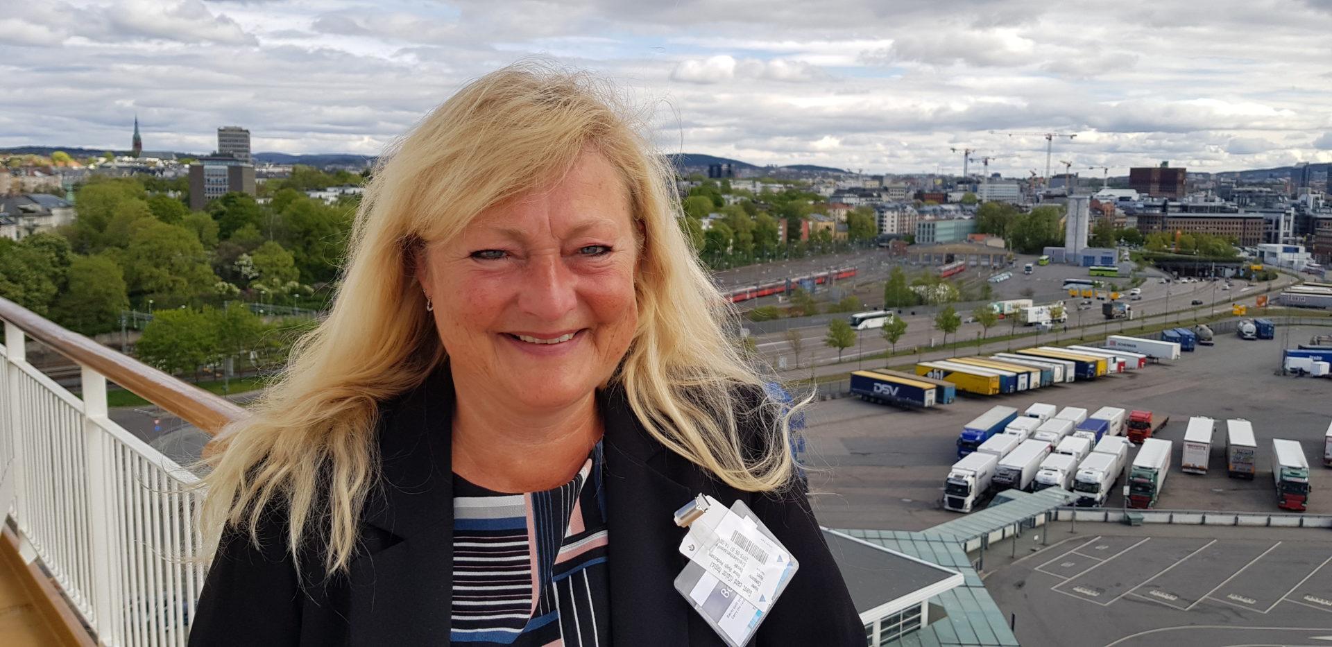 Avd. direktør Anne Rygh Pedersen i DSB
