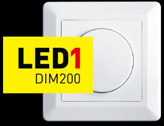 LED1 – perfekt dimming med kun 1 fase